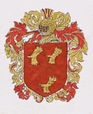 Armoiries La Personne en 1606.
