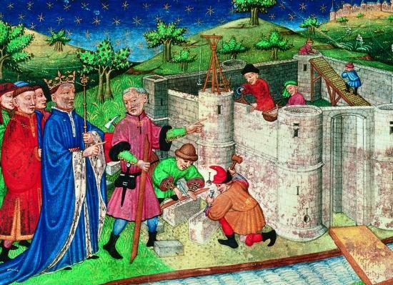 La Bastille construite par Charles V & gouvernée par Jehan de La Personne.