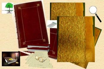 recherches dans les Registres et livres anciens