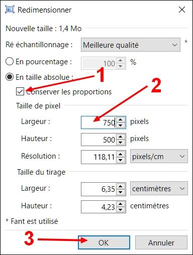 redimensionner avec Paint.NET