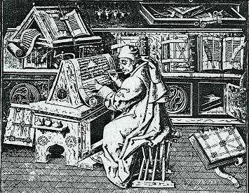 Scriptorium medieval