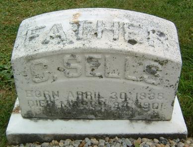 Cicero Sells tombstone