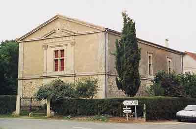Le temple de Sepvret