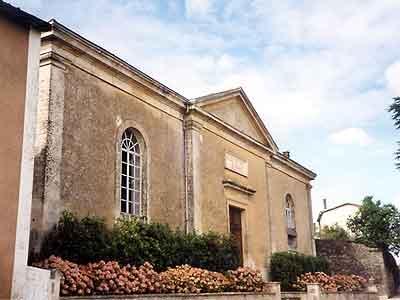 Le temple de Celles-sur-Belle
