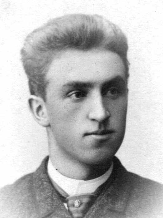 Einar Hirsch som ung