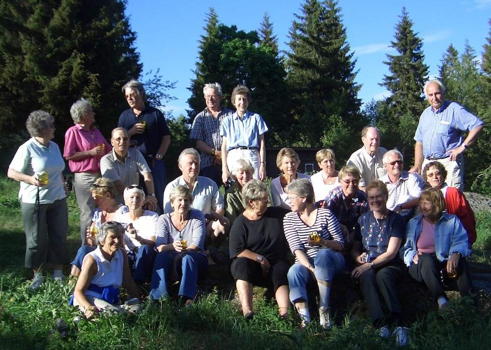 Høvik skole 2006 gjensyn med skogen vi plantet i 6. klasse