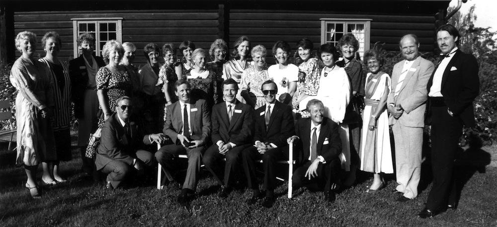 Høvik skole klasse 7A+B+C 1953 36 års jubileum