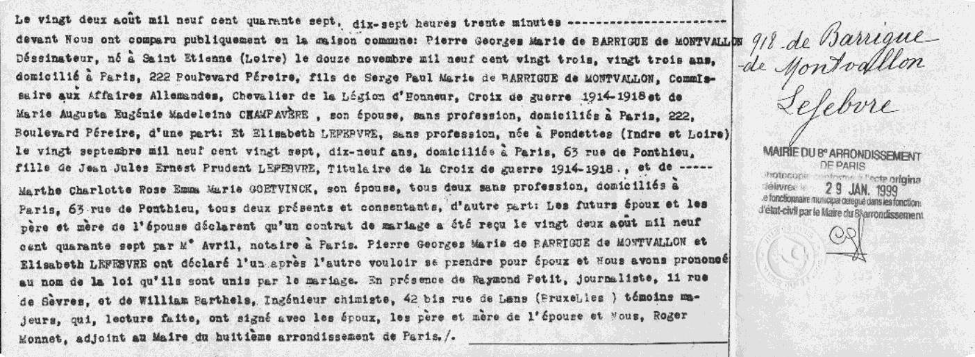 Pierre de Barrigue de Mont-Vallon Net Worth