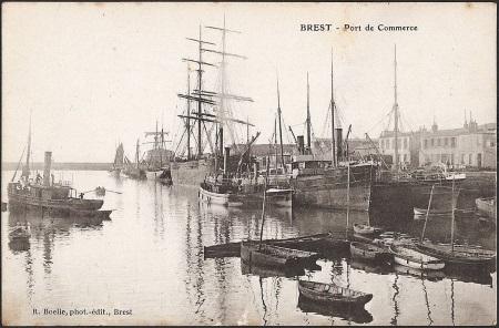Familles joncour colin finist re geneanet - Surplus militaire brest port de commerce ...