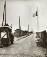 Entree du camp de Mérignac