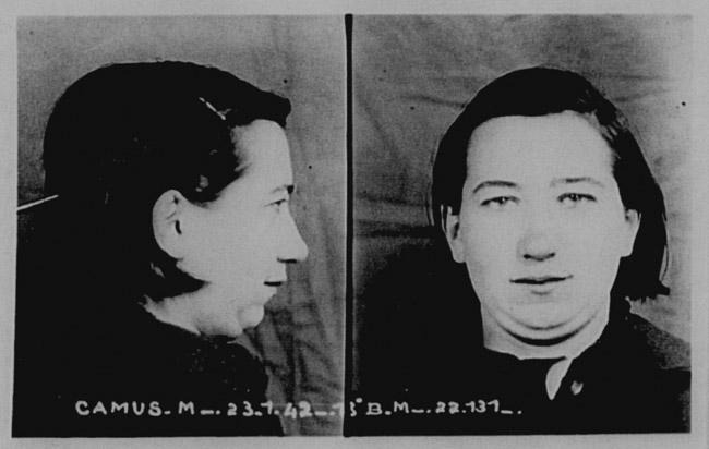 Photo Anthropometrique de Margot 23 Janvier 1942