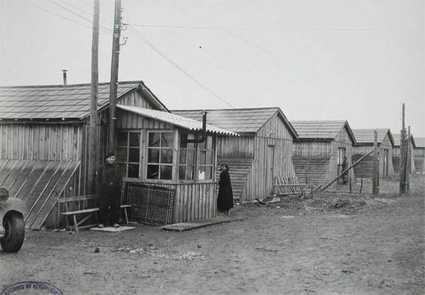 Baraques du camp de Poitiers