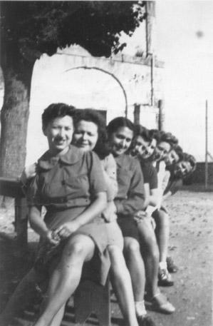 Les Bistouillardes sur le banc de Gaillon