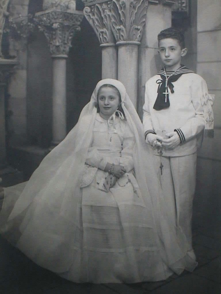 Piluca_y_Miguel_de_1_Comunion._24_Mayo_1951.JPG