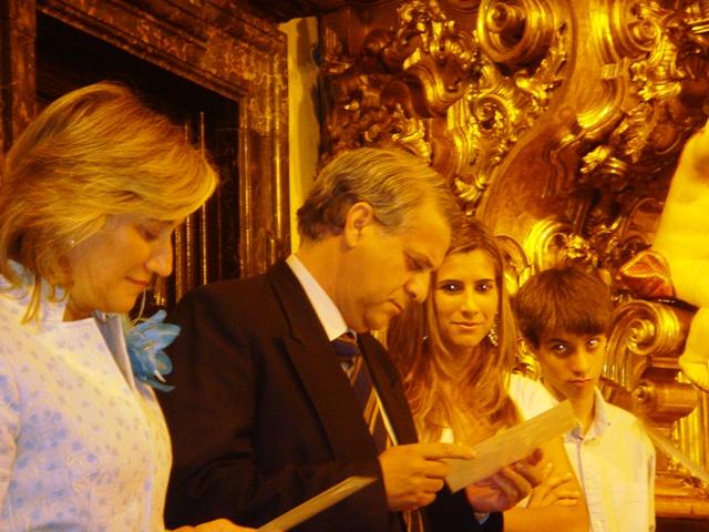 Pepe y Mari Carmen en sus bodas de plata