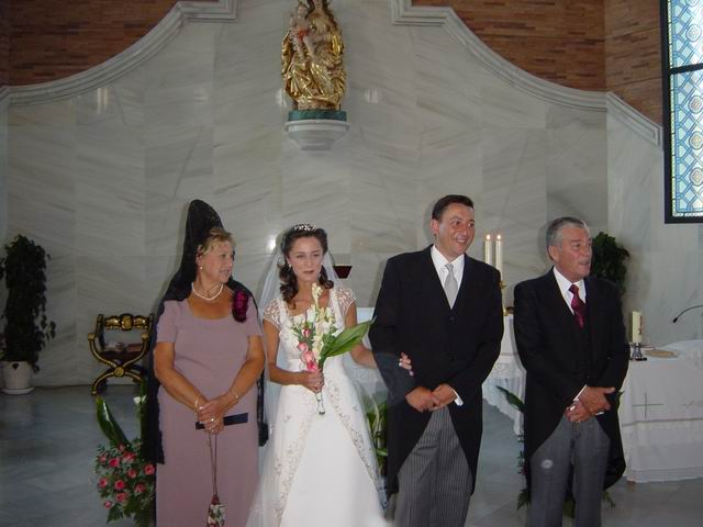 Su boda con Inmaculada