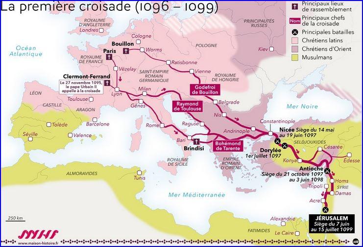 Les chevaliers limousins à la première croisade (1096-1102) (Éd.1881) - François Arbellot