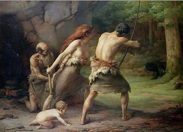 Emmanuel_Benner_Prehistoric_Man_Hunting_Bears_Musee_d_Unterlinden_Colmar_France.jpg