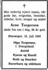 Arne Torgersen