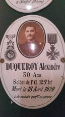 Alexandre DUQUEROY