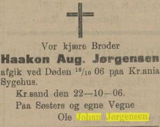 Haakon August Jørgensen