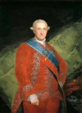 Carlos IV de Borbón,Rey de España
