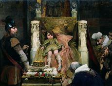 Clovis II le Fainéant des Mérovingiens