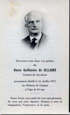 Guillaume FRADIN de BELLABRE