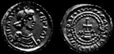 Chlotarius II DER FRANKEN de Grote : Family tree by Jan van