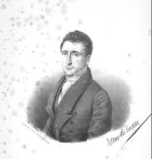 DE LA MOTHE LANGON Etienne Léon