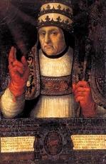 BORGIA pape Calixte III ( Alfonso )