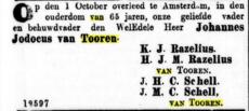 Johannes Jodocus van Tooren