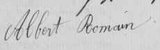 Albert Joseph Marie ROMAIN