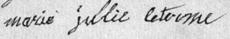 LETERME Marie Julie