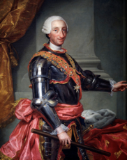 Carlos III ,(Carlos de Borbón y Farnesio) de Borbón