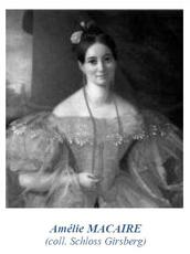 MACAIRE Pauline Françoise Amélie