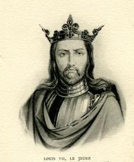 Louis VII (Le Jeune) CAPETIENS DIRECTS