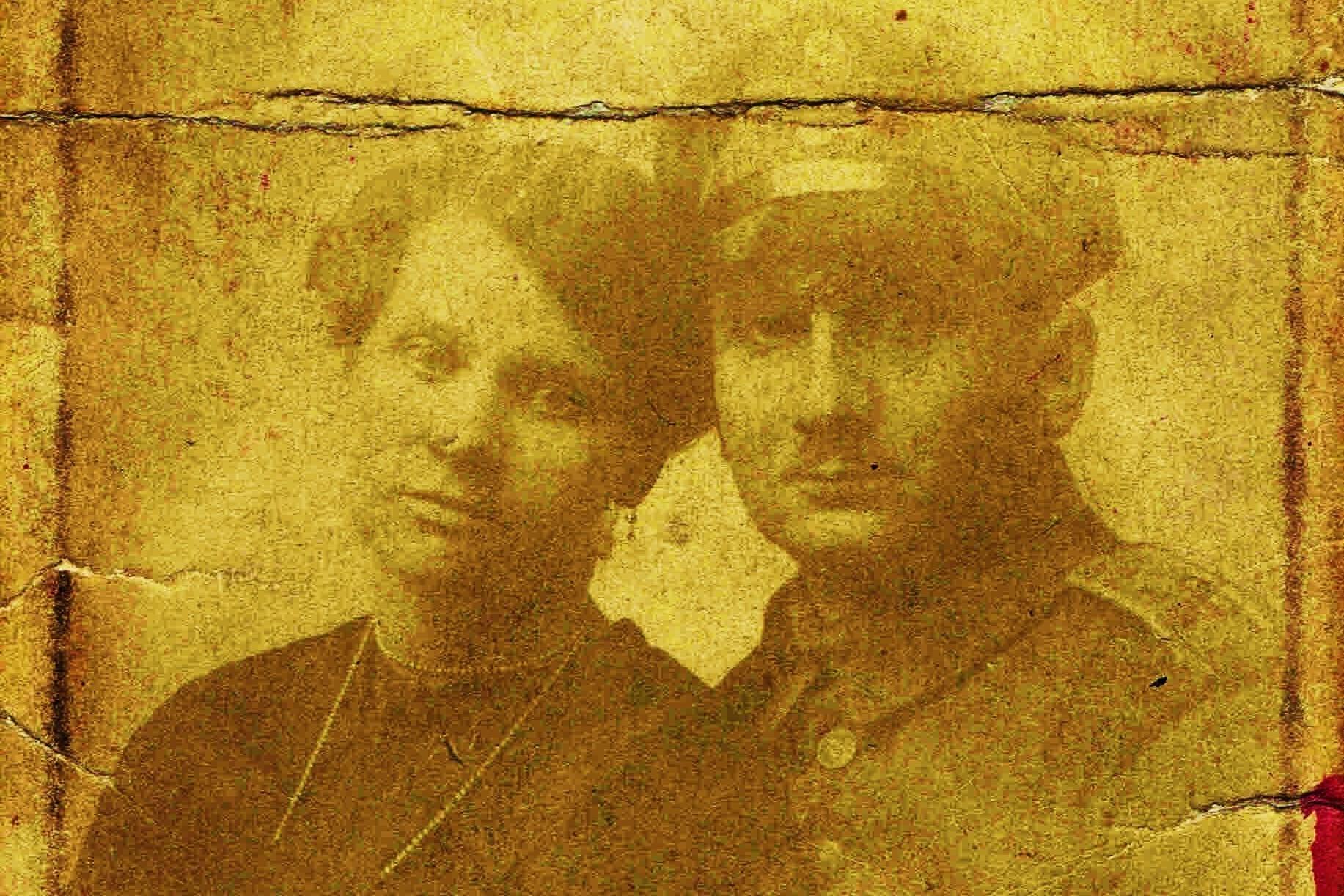 Auguste Leyk und Emil Rechner 1917