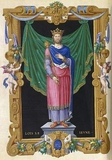 Louis VII Le Jeune de FRANCE
