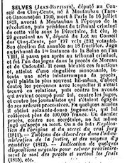 Jean Baptiste SELVES