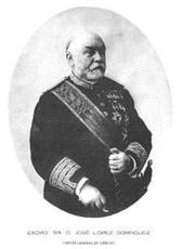 Excmo. Sr. José LÓPEZ y DOMÍNGUEZ