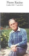 Pierre Marie Jean RACINE