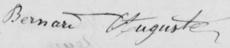 Auguste Joseph BERNARD