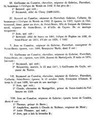 Bernard de CADOENE de Gabriac